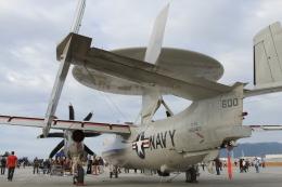 TAK_HND_NRTさんが、岩国空港で撮影したアメリカ海軍 E-2D Advanced Hawkeyeの航空フォト(飛行機 写真・画像)