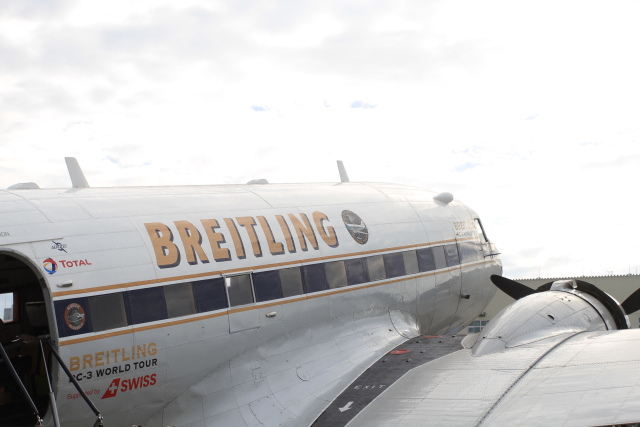 TAK_HND_NRTさんが、岩国空港で撮影したスーパーコンステレーション飛行協会 DC-3Aの航空フォト(飛行機 写真・画像)