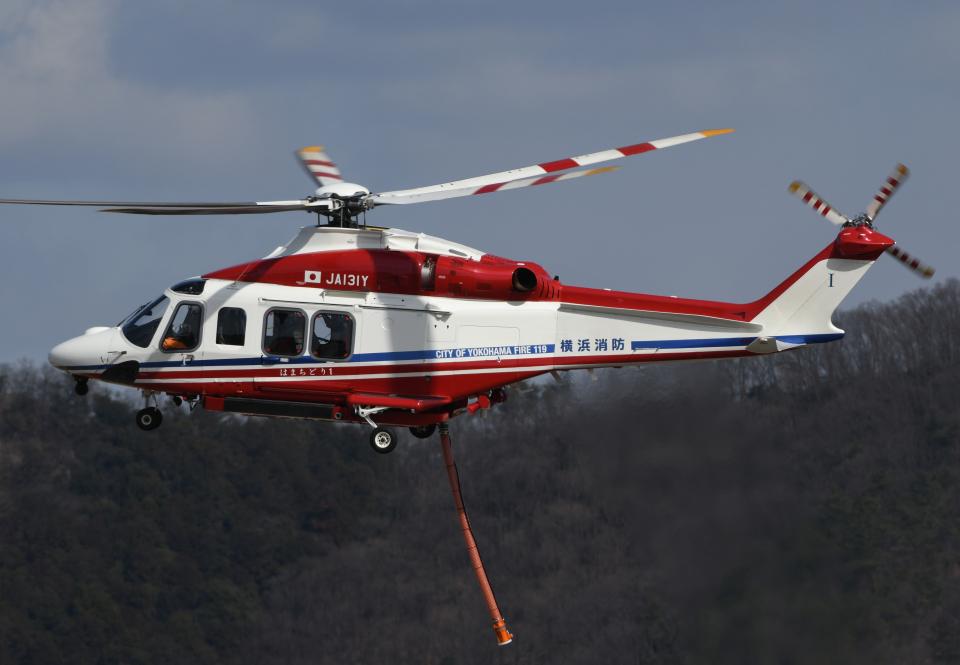 チャーリーマイクさんの横浜市消防航空隊 AgustaWestland AW139 (JA131Y) 航空フォト