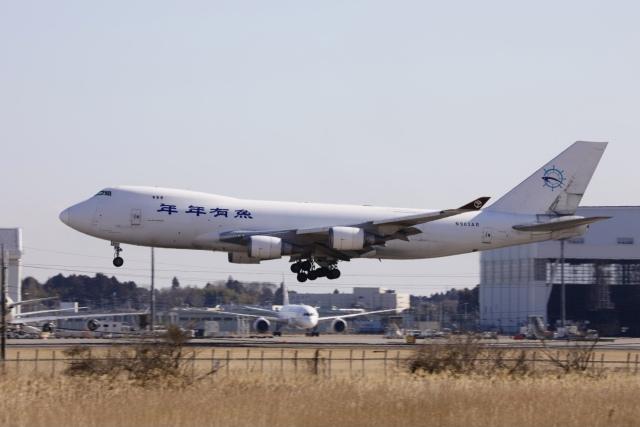 m_aereo_iさんが、成田国際空港で撮影したスカイ・リース・カーゴ 747-428F/ER/SCDの航空フォト(飛行機 写真・画像)