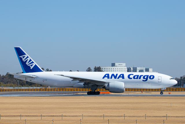 SGR RT 改さんが、成田国際空港で撮影した全日空 777-F81の航空フォト(飛行機 写真・画像)