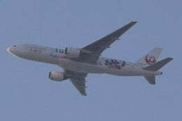 BOEING737MAX-8さんが、自宅から撮影で撮影した日本航空 777-246の航空フォト(飛行機 写真・画像)