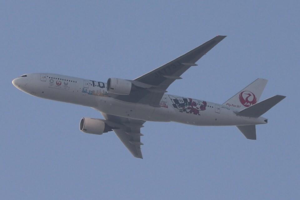 BOEING737MAX-8さんの日本航空 Boeing 777-200 (JA773J) 航空フォト