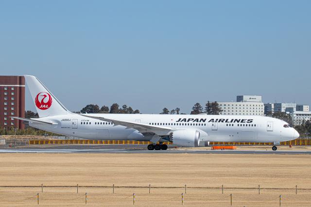 SGR RT 改さんが、成田国際空港で撮影した日本航空 787-9の航空フォト(飛行機 写真・画像)