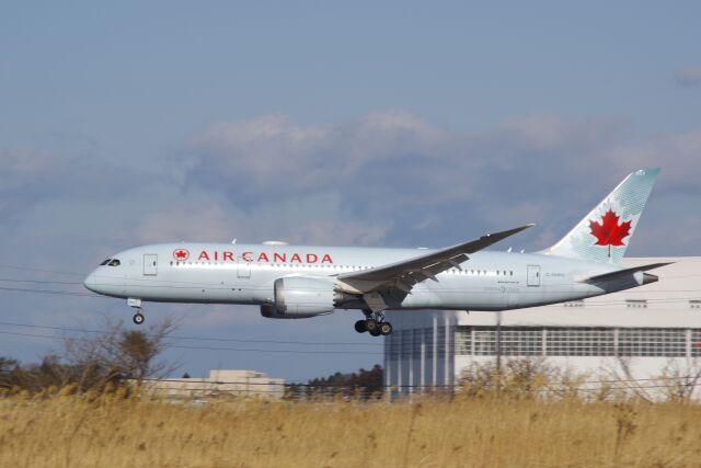 ひろかずさんが、成田国際空港で撮影したエア・カナダ 787-8 Dreamlinerの航空フォト(飛行機 写真・画像)