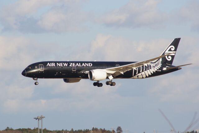 ひろかずさんが、成田国際空港で撮影したニュージーランド航空 787-9の航空フォト(飛行機 写真・画像)