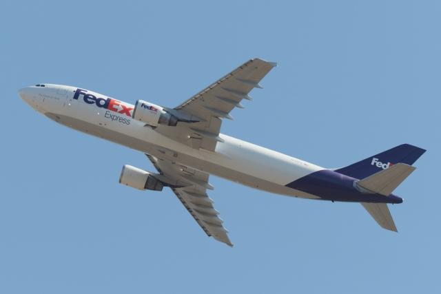 木人さんが、成田国際空港で撮影したフェデックス・エクスプレス A300B4-622R(F)の航空フォト(飛行機 写真・画像)