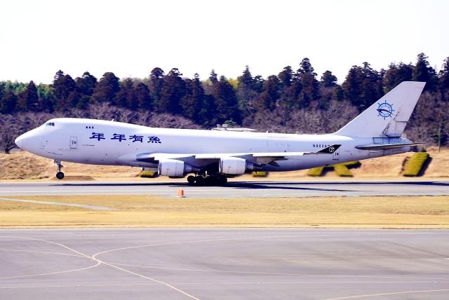 SFJ_capさんが、成田国際空港で撮影したスカイ・リース・カーゴ 747-428F/ER/SCDの航空フォト(飛行機 写真・画像)