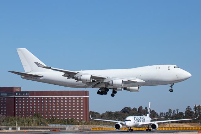 SGR RT 改さんが、成田国際空港で撮影したカリッタ エア 747-4B5F/SCDの航空フォト(飛行機 写真・画像)