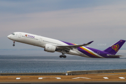 WAiRさんが、中部国際空港で撮影したタイ国際航空 A350-941の航空フォト(飛行機 写真・画像)