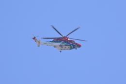 レガシィさんが、宇都宮市内で撮影した栃木県消防防災航空隊 AW139の航空フォト(飛行機 写真・画像)