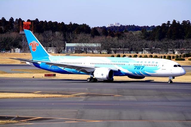 SFJ_capさんが、成田国際空港で撮影した中国南方航空 787-9の航空フォト(飛行機 写真・画像)