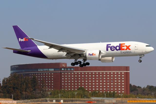 こだしさんが、成田国際空港で撮影したフェデックス・エクスプレス 777-FS2の航空フォト(飛行機 写真・画像)