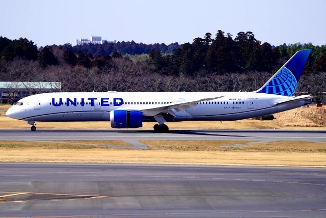 SFJ_capさんが、成田国際空港で撮影したユナイテッド航空 787-9の航空フォト(飛行機 写真・画像)