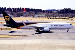 SFJ_capさんが、成田国際空港で撮影したUPS航空 767-34AF/ERの航空フォト(飛行機 写真・画像)