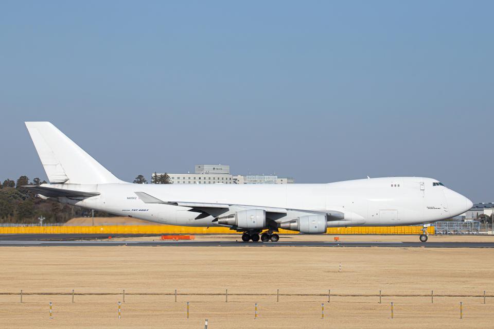 SGR RT 改さんのアトラス航空 Boeing 747-400 (N405KZ) 航空フォト