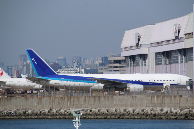 t.anrakuさんが、羽田空港で撮影した全日空 777-281/ERの航空フォト(飛行機 写真・画像)