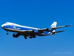 池さん@JA381Aさんが、成田国際空港で撮影したエアブリッジ・カーゴ・エアラインズ 747-83QFの航空フォト(飛行機 写真・画像)