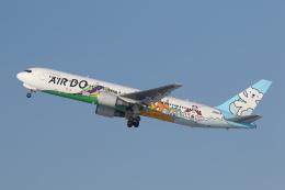 安芸あすかさんが、新千歳空港で撮影したAIR DO 767-381の航空フォト(飛行機 写真・画像)