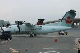 ババックンさんが、トロント・ピアソン国際空港で撮影したエア・カナダ ジャズ DHC-8-102 Dash 8の航空フォト(飛行機 写真・画像)