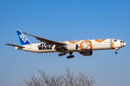 かっきーさんが、成田国際空港で撮影した全日空 777-381/ERの航空フォト(飛行機 写真・画像)