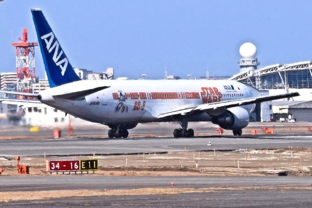 bachi51さんが、福岡空港で撮影した全日空 767-381/ERの航空フォト(飛行機 写真・画像)