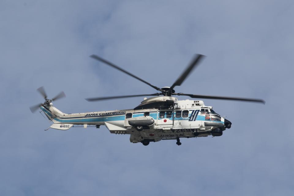 ショウさんの海上保安庁 Airbus Helicopters H225 (JA692A) 航空フォト
