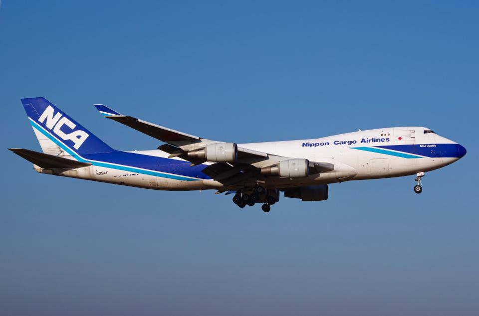 さんごーさんの日本貨物航空 Boeing 747-400 (JA05KZ) 航空フォト