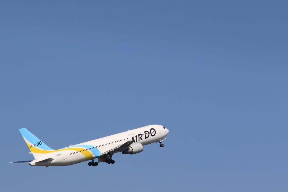 inyoさんのAIR DO Boeing 767-300 (JA01HD) 航空フォト