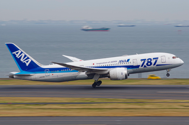 さんごーさんが、羽田空港で撮影した全日空 787-8 Dreamlinerの航空フォト(飛行機 写真・画像)