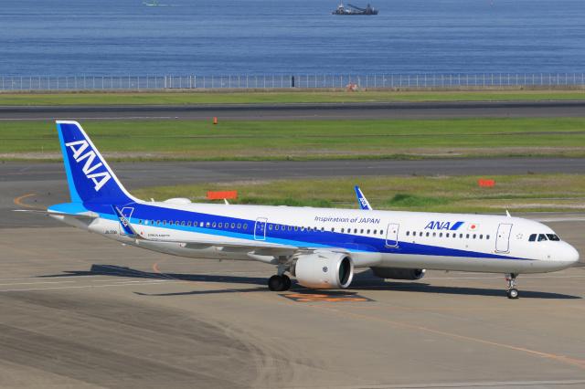 inyoさんが、羽田空港で撮影した全日空 A321-272Nの航空フォト(飛行機 写真・画像)