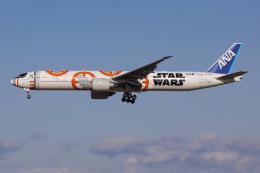 よんろくさんが、成田国際空港で撮影した全日空 777-381/ERの航空フォト(飛行機 写真・画像)