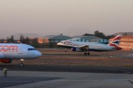Hiro-hiroさんが、マラケシュ・メナラ空港で撮影したブリティッシュ・エアウェイズ A319-131の航空フォト(飛行機 写真・画像)
