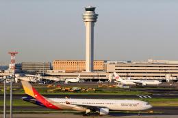 inyoさんが、羽田空港で撮影したアシアナ航空 A330-323Xの航空フォト(飛行機 写真・画像)
