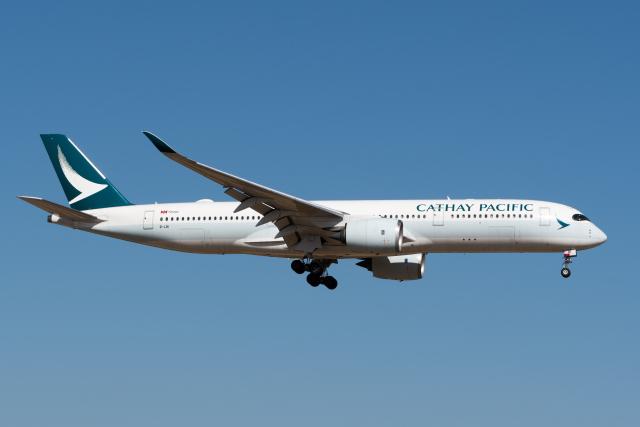ぎんじろーさんが、成田国際空港で撮影したキャセイパシフィック航空 A350-941の航空フォト(飛行機 写真・画像)