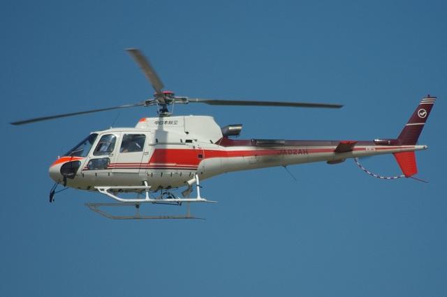 MOR1(新アカウント)さんが、名古屋飛行場で撮影した中日本航空 AS350B3 Ecureuilの航空フォト(飛行機 写真・画像)