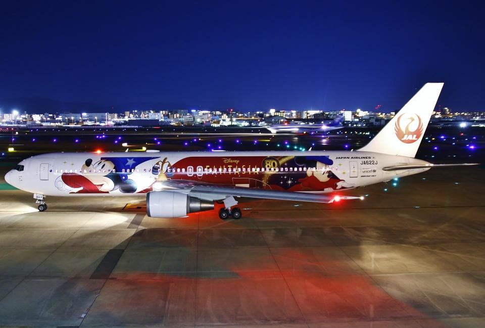あしゅーさんの日本航空 Boeing 767-300 (JA622J) 航空フォト