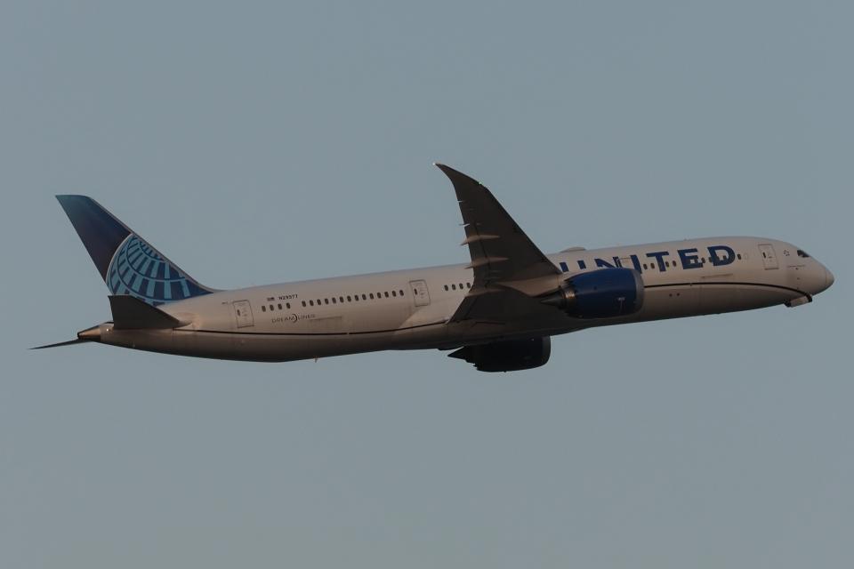 木人さんのユナイテッド航空 Boeing 787-9 (N29977) 航空フォト