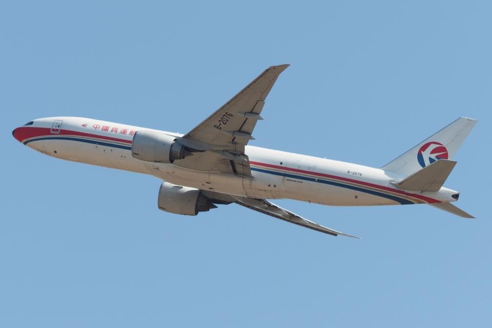 木人さんの中国貨運航空 Boeing 777-200 (B-2076) 航空フォト