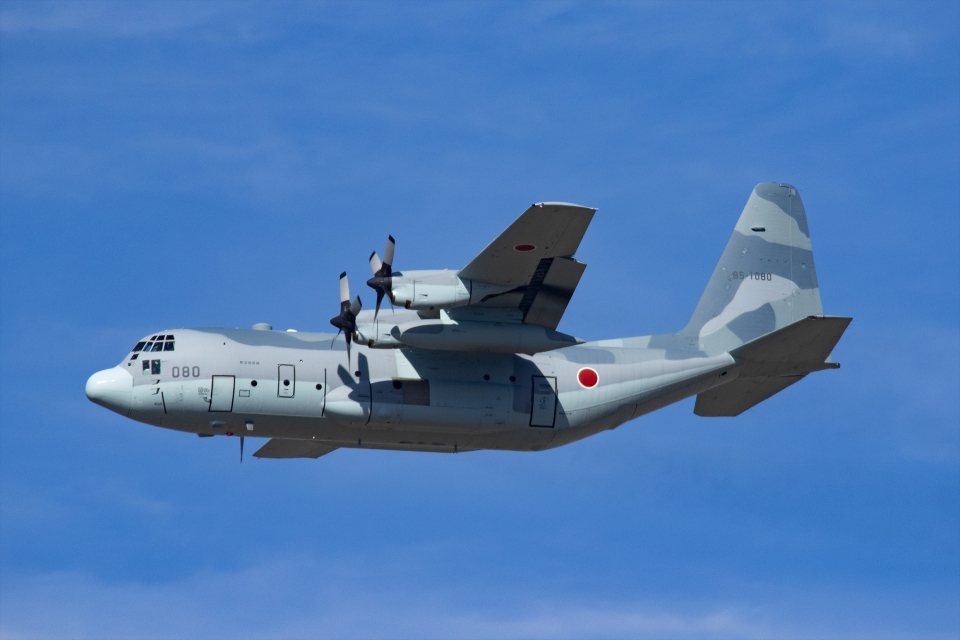 Mochi7D2さんの航空自衛隊 Lockheed C-130 Hercules (85-1080) 航空フォト