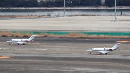 誘喜さんが、羽田空港で撮影したオートパンサー 525A Citation CJ2の航空フォト(飛行機 写真・画像)