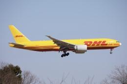 m_aereo_iさんが、成田国際空港で撮影したDHL 777-Fの航空フォト(飛行機 写真・画像)