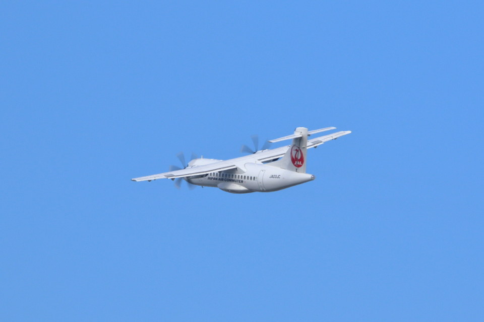 kaz787さんの日本エアコミューター ATR 42 (JA03JC) 航空フォト