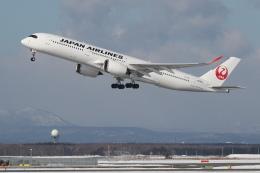 安芸あすかさんが、新千歳空港で撮影した日本航空 A350-941の航空フォト(飛行機 写真・画像)