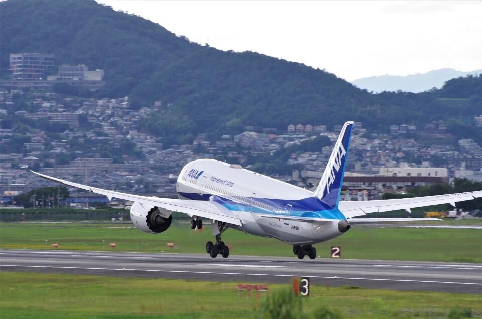 mild lifeさんの全日空 Boeing 787-8 Dreamliner (JA818A) 航空フォト