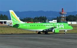 Rsaさんが、鹿児島空港で撮影したフジドリームエアラインズ ERJ-170-200 (ERJ-175STD)の航空フォト(飛行機 写真・画像)