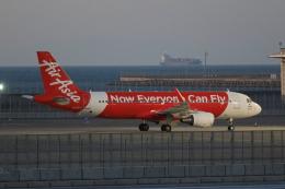 わんだーさんが、中部国際空港で撮影したエアアジア・ジャパン A320-216の航空フォト(飛行機 写真・画像)
