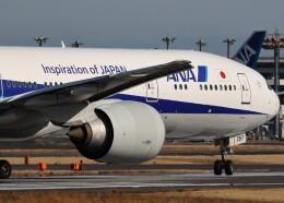 不揃いさんが、成田国際空港で撮影した全日空 777-381/ERの航空フォト(飛行機 写真・画像)