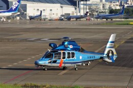 mild lifeさんが、伊丹空港で撮影した兵庫県警察 EC155B1の航空フォト(飛行機 写真・画像)