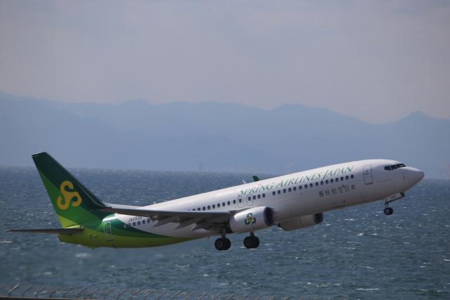 kwnbさんが、中部国際空港で撮影した春秋航空日本 737-8ALの航空フォト(飛行機 写真・画像)